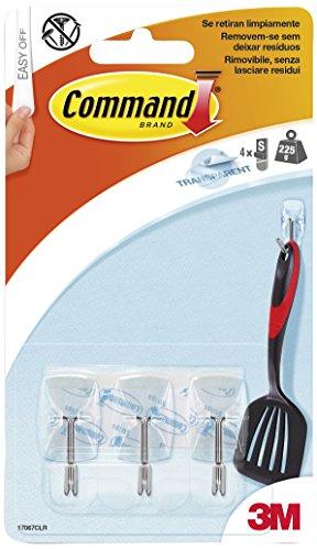 command-17067clr-pack-de-3petits-crochets-pour-ustensiles-avec-bandes-adhsives-plastique-transparent