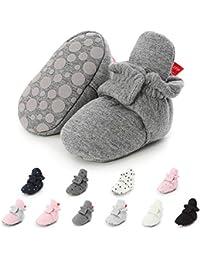 Sabe Zapatos Primeros Pasos Para Niño,Bebé Niño Infantil Nieve Botas Zapatos Cuna Prewalker 0-18 Mesi
