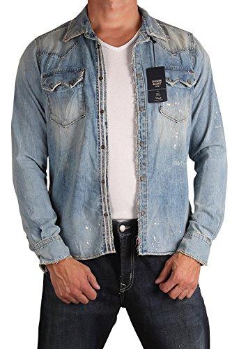 LTB 60468-4446Jack maglietta da uomo Jeans camicia Segal Wash Segal Wash M/43/44