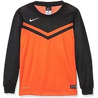 Bambini Jersey Nike Victory II LS, Bambini, Jersey Victory II LS, Arancione/Nero, L - Arancione Nike Jersey