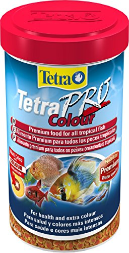 Tetra Pro Colour Fish Food for All Tropical Fish and Extra Colour, 500ml 3
