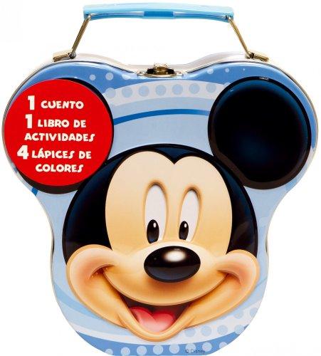 Mickey Mouse. Cajita metálica
