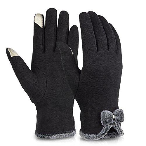 VBIGER guanti da donna TouchScreen invernale