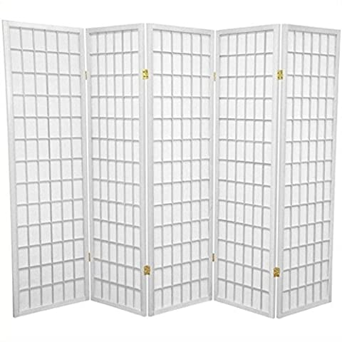 Oriental Furniture Best Deal Value Office Cubicle Divider, 5-Feet Japanese