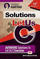 Let Us C Solutions - 16th Edition
