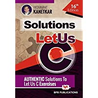 Let Us C Solutions- 16th Edition
