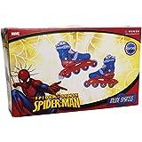 Spiderman - Patines bota en línea, talla 34-37 (Mondo 18495)