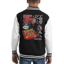 Guess Who Died Negan The Walking Dead Kid's Varsity Jacket