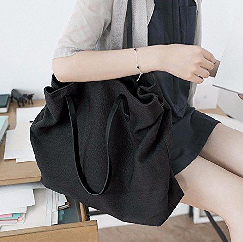 GUMO-Spiaggia sacchetti, sacchi di tela, singole borse tracolla, casual, borse, borsette,Tuba 50cm Trumpet 45cm