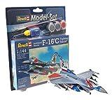 Revell - Maqueta Modelo Set F-16C USAF, Escala 1:144 (63992)