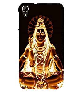 For HTC Desire 828 Dual Sim shiva ( ) Printed Designer Back Case Cover By CHAPLOOS