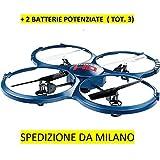 RC Quadrocopter–Drohne Udirc u818a-1Discovery HD Upgrade + 2Batterie verstärkt