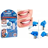 PERFECT SHOPO Tooth Whitening Tooth Polisher Whitener Stain Remover with LED Light Luma Smile Rubber Cups