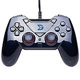 ZD-C Gaming USB Collegata Controller Gamepad Joypad Joystick Per PC (Windows XP / 7/8/10) & PlayStation 3 & Android & Steam & Mac OS immagine