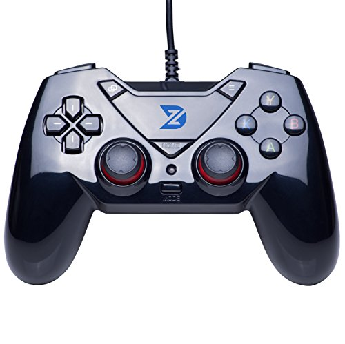 ZD-C USB wired Gamepad Controller Gamecontroller Joystick für PC (Windows XP/7/8/10) und PlayStation 3 & Android & Steam & Mac OS