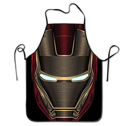 YZMZD Delantal Cocina - Iron Man Barbacoa