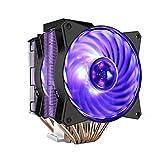 XIAOXIN CPU Cooler LED Raffreddamento ad Aria CPU ' 6 heatpipes, 2X Ventola PWM da 120mm, LED RGB ' RR-212L-16PR-R1, Multi-Piattaforma 2066/AM4