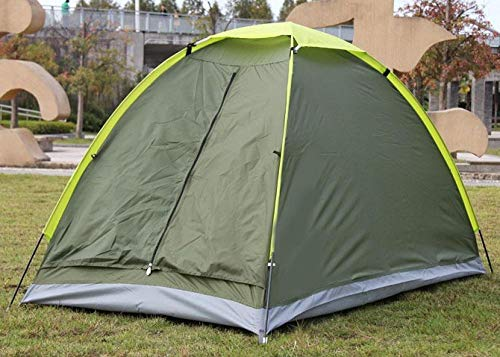 ZHANGji Zelt Outdoor Einzelzelt Ultraleicht 1 Person Mittagspause Indoor-Zelt Selbstfahrer tragbares Wildnis-Campingzelt