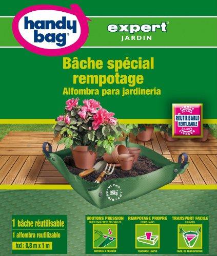 Handy-Bag Expert, 4008871100092 Sacs spécial jardin, BACHE SPECIALE REMPOTAGE (0,8m x 1m) x 1 bâche réutilisable