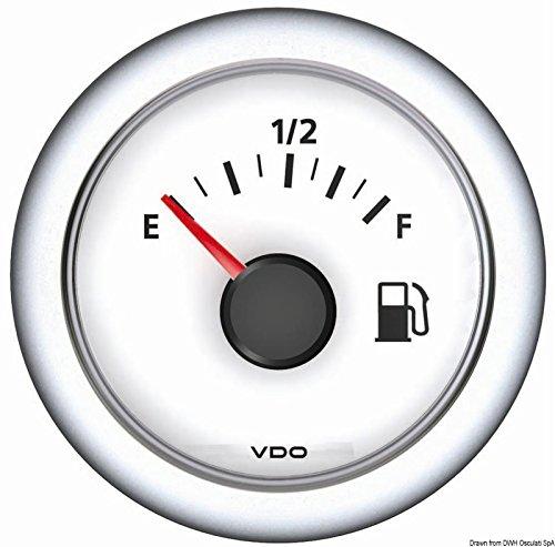 Osculati 27.482.01 - Indicatore livello carburante 10/180 Ohm bianco