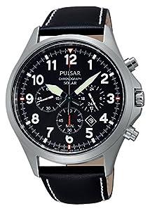 Pulsar PX5007X1 - Reloj de pulsera hombre, Cuero, color Negro de Pulsar