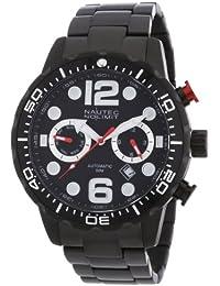 Nautec No Limit Herren-Armbanduhr XL Dolphin Analog Automatik Edelstahl beschichtet DO AT/IPIPBKBK