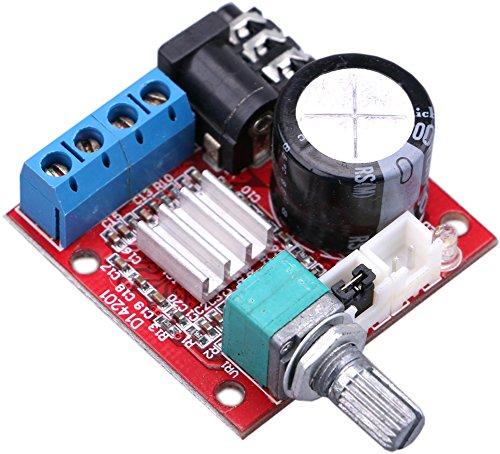 Yeeco Micro DC12V Digitale Audio Energia Amplificatore 10W + 10W 2.0 Doppio Canale Stereo Amp Tavola Amplificare Modulo Class-D Amplificatore per PC Altoparlante Auto Auto Il Motore Settore Automobilistico Veicolo Motociclo