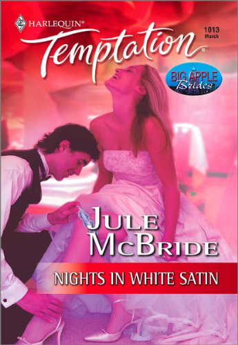 Nights in White Satin (Big Apple Brides) (English Edition) Apple-satin