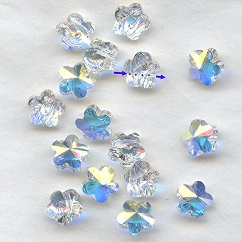 Swarovski 5744 8 ci *** 12 perline fiore cod. cristallo ab 5744 8 mm.
