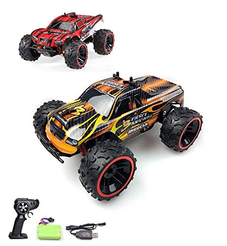Ferngesteuertes Auto, 1:16 Skala 2WD RC Auto Off Road Buggy, 2.4 Ghz Radio Control Geländewagen Spielzeug Fahrzeug für Kinder Erwachsene im Drinnen und draußen*
