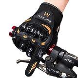 zyurong® Fahrrad Handschuhe Mountain Bike Handschuhe Road Racing Fahrrad Handschuhe, leichte Silikon Gel Pad Biking Handschuhe Full Finger Radfahren Handschuhe Reithandschuhe Herren/Damen Arbeitshandschuhe