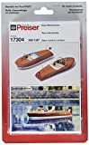Preiser 1/87th–pr17304–Modelleisenbahnen–Zwei Rettungsbooten zu Motor