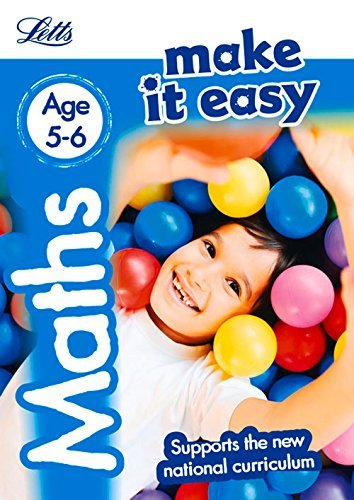 Maths Age 5-6: New Edition (Letts Make It Easy - New 2014 Curriculum) by Letts KS1 (July 1, 2015) Paperback