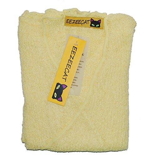 EeZeeCat Da donna, in maglia Greenhouses Coprispalle/Bolero top–see Massive gamma di colori Lemon 29