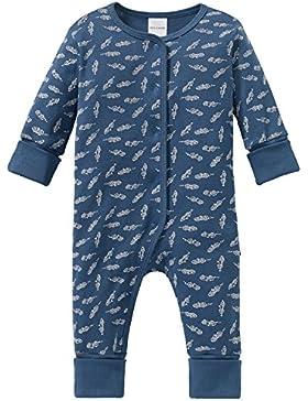 Schiesser Jungen Zweiteiliger Schlafanzug Grand Prix Baby Anzug mit Vario