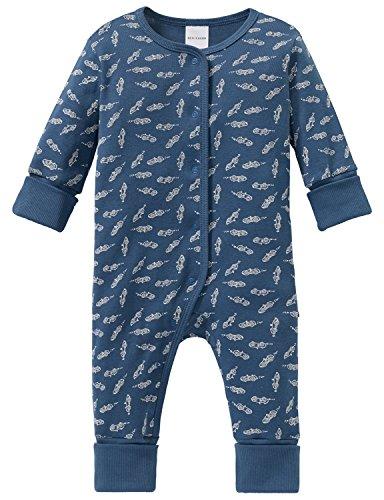Schiesser Baby-Jungen Grand Prix Anzug mit Vario Zweiteiliger Schlafanzug, Blau (Blau 800), 68
