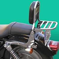 SPAAN - Respaldo con Porta - Harley Davidson Sportster Xlm-Xln-Xl Hasta 2005