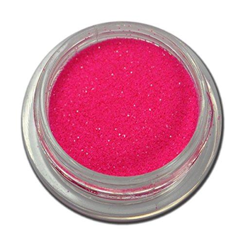 Glitter Poudre Paillettes de la poussière Rose Fluo nail art design RM Beautynails