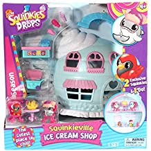 "Re:creation Group Plc SQPLA1 ""Squinkies 'Do Drops Ice Cream Shop"" Playset Pack"