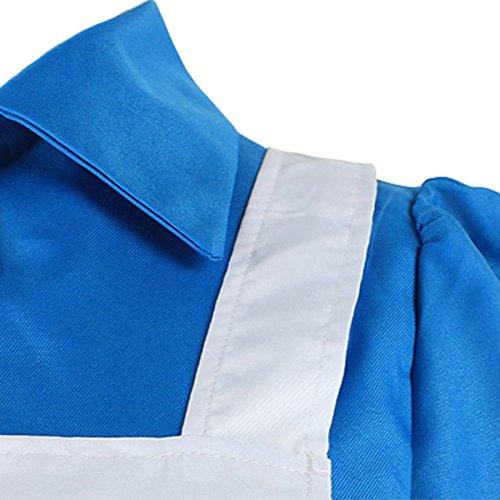 VLUNT Damen Kleid Mehrfarbig