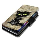 Book Style Flip Handy Tasche Case Schutz Hülle Schale Motiv Foto Etui für HTC One A9 - A40 Design9