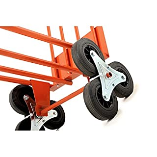 Gierre Ge050 Stapelkarre, 2 x 3 Rollen, bis 250 kg