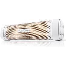 Denon DSB100 - Altavoz portátil (Bluetooth, NFC, micrófono), blanco