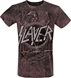 Slayer Eagle T-Shirt grau/rot M