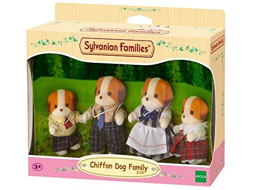 Sylvanian Families 3139 - Familia Beagle (4 figuras) [importado de Alemania]