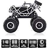 J K INTERNATIONAL Remote Controlled Rock Crawler Rock Through Off Road I-Ghost RC Monster Truck, Four Wheel Drive, 1:43 Scale 2.4 GHz, Latest 2018 Design And Model