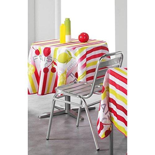 moderne-effet-lotus-avec-nappe-motif-fruits-de-bandes-frais-dans-rouge-et-jaune-taille-180-rond-avec