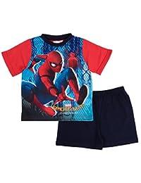 De cama infantil corto Ultimate pijama Marvel Spiderman pijama conjunto de cinta y pijama diseño de martillo de Thor tamaño de la funda de UK 3 permiten el paso de la 10 años