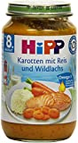 Hipp Karotten mit Reis und Wildlachs