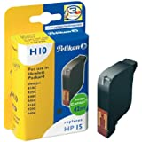 Pelikan HP 15 - Cartucho inkjet (para HP DeskJet 840, 810, 825C, 920, 940, 950, 42 ml) color negro
